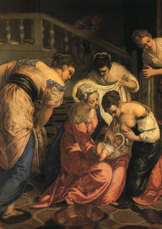 The birth of St. John the Baptist  (detail)