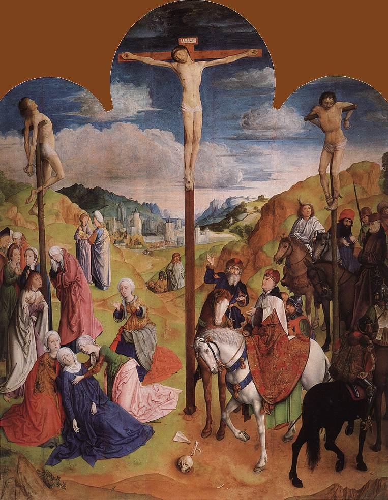 Calvary Triptych (center panel)